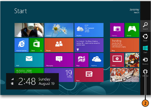 allow access to your information windows 8